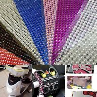 1000pcs 4mm DIY Clear Rhinestone Self Adhesive Diamantes Stick on Gems Fashoon