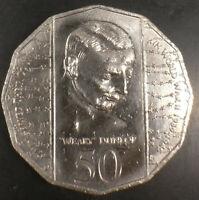 1995 Australian 50c Weary Dunlop. Australia 50 cent coin. Free postage Australia