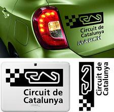 Sticker Vinilo - Circuit de Catalunya - Vinyl -Car Tunnig - Pegatina-Wall Decall