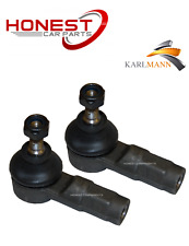 For FIAT ULYSSE FIAT SCUDO 96> Front Outer Tie Track Rod Rack End x2 By Karlmann
