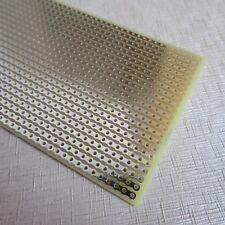 1stk 5x10cm Streifenraste Lochraster Platine Leiterplatte stripboard pcb vero