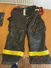 New Listingmorning Pride Fire Fighter Turnout Pants 34 X 27 Black Bunker Gear