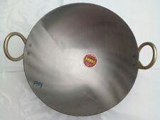 Indian Iron Deep Frying Pan Kadhai Kadai Wok For Cooking & Frying Kitchen Tools