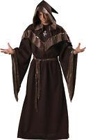 Mystic Sorcerer Adult Men's Costume Wizard Robe Medieval Halloween