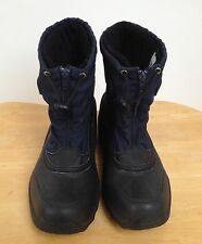 LANDS' END blue winter boots, uk 5