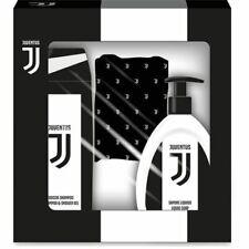 Juventus FC Cofanetto Idea Regalo con doccia Shampoo Sapone liquido Scalda