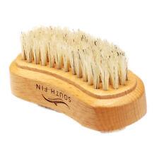 Two-sided Wood Finger Nail Brush Scrub Fingernail Toenail Cleaning Nailbrush
