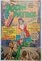 Doom Patrol #97 GD/VG DC Silver Age 1965 Ripped Piece of Front Cover - Rare !