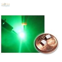 10 SMD LED PLCC2 Grün, grüne LEDs SMDs 3528 green vert groene verde groen SMT