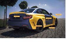 Bodykit BMW 2er F22 F23 M Paket Performance Seitenschweller Stoßstange 235i M2