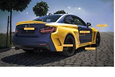 Bodykit BMW 2er f22 f23 M Pacchetto Performance minigonne PARAURTI 235i m2