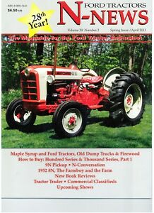 Buying Ford 100 1000 series tractor 1953-1964 Red Tiger Engine, 9N pickup