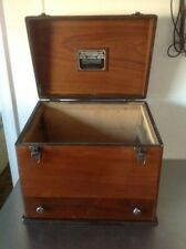 """Vintage """"Holder'S"""" Ultra-Short Wave H.F. Condensator Wooden Box"""