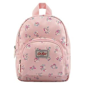 Cath Kidston Kids Woodstock Ditsy Mini Rucksack, Warm Pink Oilcloth UK Stock