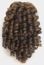 "11"" MEDIUM SPIRAL CURLS CURLY HAIR PONYTAIL HAIRPIECE DRAWSTRING SHIRLEY TEMPLE"