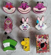 Disney Pin Mad Hatter Hat 10//6  Alice in Wonderland Icons Disney Pin 125438