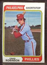 1974 TOPPS  # 23 CRAIG ROBINSON PHILLIES EX-
