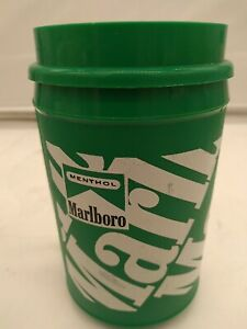 Marlboro Aladdin traveling mug made USA  green Menthol advertisement mug
