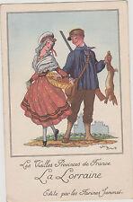 CHROMO/IMAGE PUBLICITAIRE/FARINES JAMMET/Province LA LORRAINE-Illus.Jean DROIT
