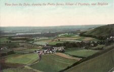 D80.Vintage Postcard.Poynings from Devils Dyke.Brighton.