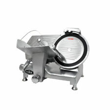 "KWS Metal Collection Commercial 420W MS-12DT 12"" Meat Slicer +Blade Removal Tool"