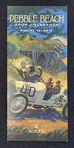 2012 Pebble Beach Concours Rolex Tour Program 1908 BENZ BARRY ROWE