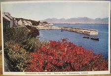 Irish Postcard ROUNDSTONE HARBOUR 12 Pins Connemara Galway Ireland PC DeLuxe 79