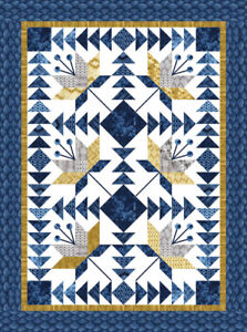 """Moda Quilt Kit Torchi by Debbie Maddy KIT48060 Finished size 84"""" x 108"""""""