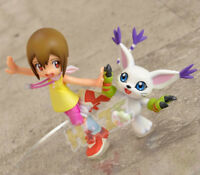 Digimon Gatomon Yagami Hikari Tailmon Digital Adventure Action Figure Kids Toy