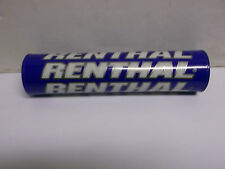 "RENTHAL BLUE HANDLEBAR BAR PAD 8.5"" LONG SHINY MINI FOR MX/ENDURO BC24662 - T"