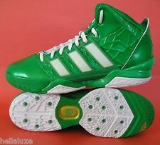 RARE~Adidas ADIPOWER HOWARD 2 ST PATRICK'S DAY crazy basketball fast Shoe~Men 14