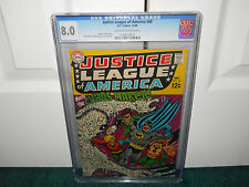 Justice League Of America #68 CGC 8.0 Universal OW/W Pages DC Comics