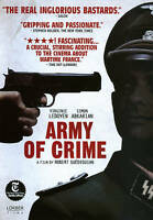 Army of Crime (DVD, 2011) New Region 2