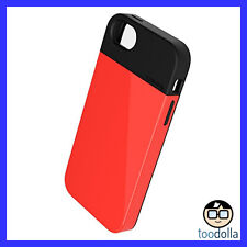 LUNATIK Flak - Dual Layer designer case - lightweight armour - iPhone 5/5s, RED