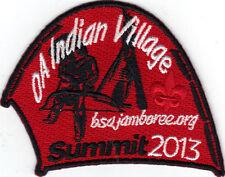 2013 National Jamboree Promo Tent Patch Series, OA Indian Village, Mint!