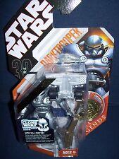 Star Wars 30th Anniversary Fans' Choice #1 Dark Trooper Gold Coin Hasbro NIB