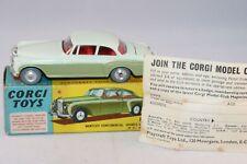Corgi Toys 224 Bentley Continental Sports 99% mint in box & Leaflat SUPERB