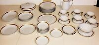 Rare Ambassador by Gold China Made in Japan Dinnerware 50 pc