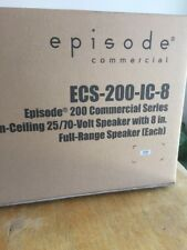 Episode Commercial ECS-200-IC-8 In Ceiling Speaker,New,still Sealed Box,look!