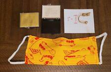 Facemask Oscar Mayer Wienermobile Paul Frank custom rare mask & keychain EXTRAS