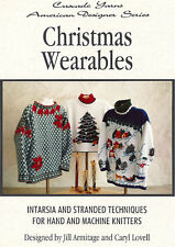 Christmas Wearables - Pattern for 3 Christmas-themed sweaters