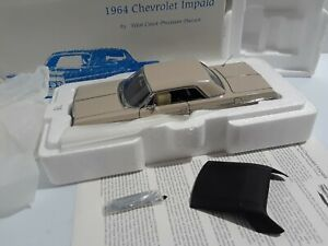 1:24 1964 IMPALA SS HARDTOP in DESERT BEIGE by WCPD WEST COAST PRECISION DIECAST