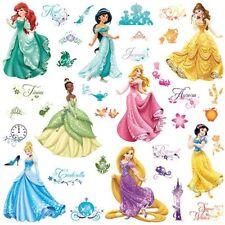 Pegatinas Infantiles Para Niñas Calcomanías De Pared De Princesas De Disney