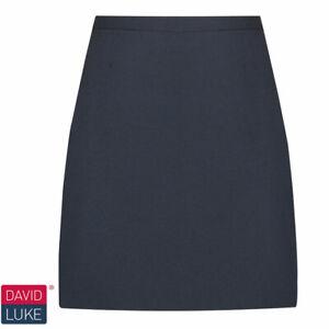 David Luke  DL969 Girls Senior Skirt Navy