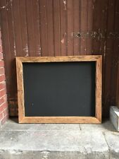 Large Chalkboard, Recycled Timber, Rustic Blackboard, 1000 x 800 mm