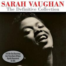 SARAH VAUGHAN - THE DEFINITIVE COLLECTION (NEW SEALED 3CD)
