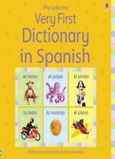 Very First Dictionary in Spanish By Felicity Brooks,Isabel Sanchez,Jo Litchfiel