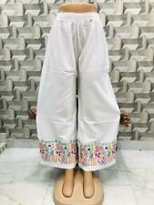 women cotton pants pajama printed beach wear yoga pant wide leg trouser