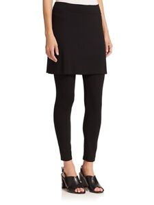EILEEN FISHER skirted Legging Ankle Pants Jersey Viscose Women Plus Size 1X