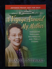 A VOYAGE AROUND MY MOTHER by ELEANOR STEWART-LION 2016-UK POST £3.25-P/B*PROOF*